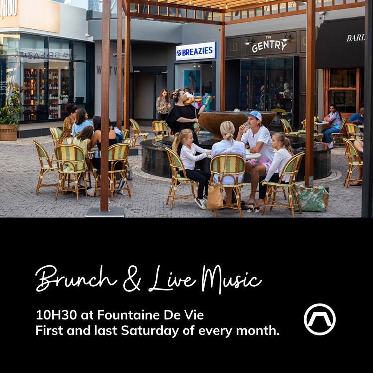 Brunch and live music event