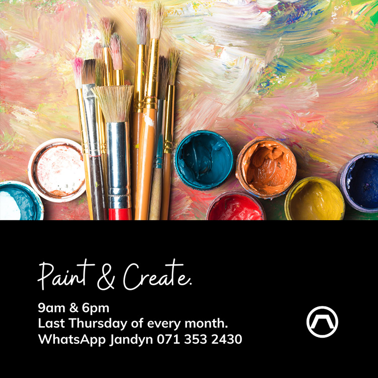 Paint and Create Event at Umhlanga Arch